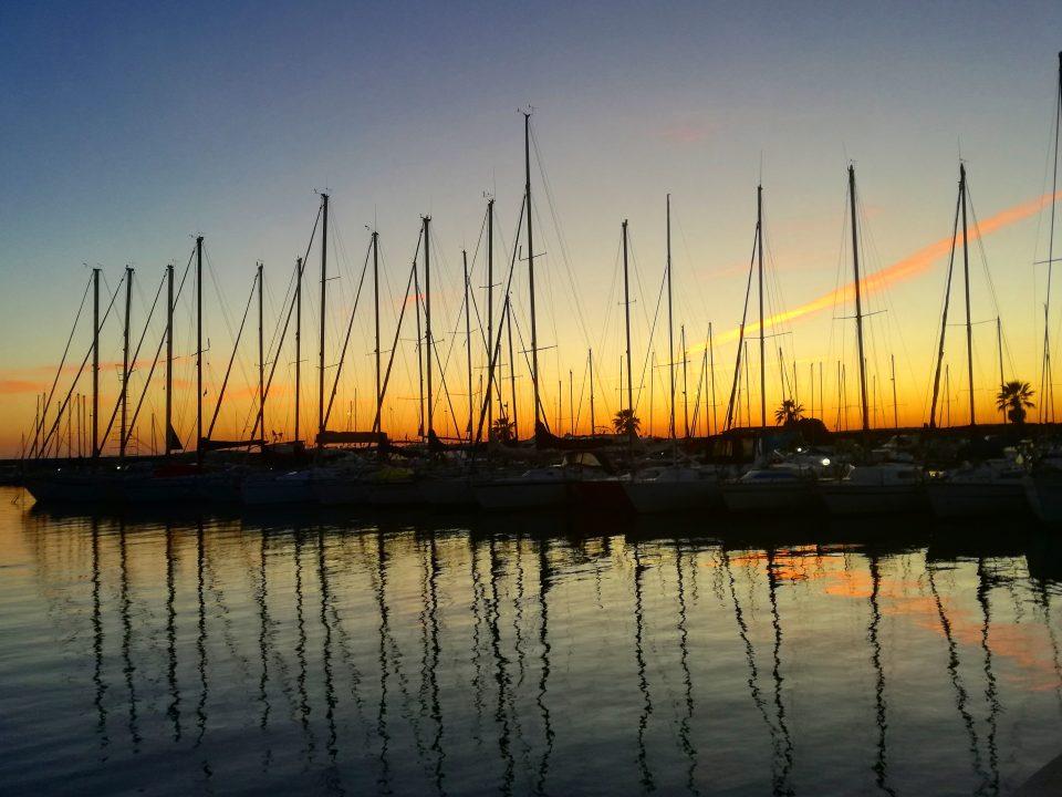 sunset sea sardegna sardabike sinis yachting mtb