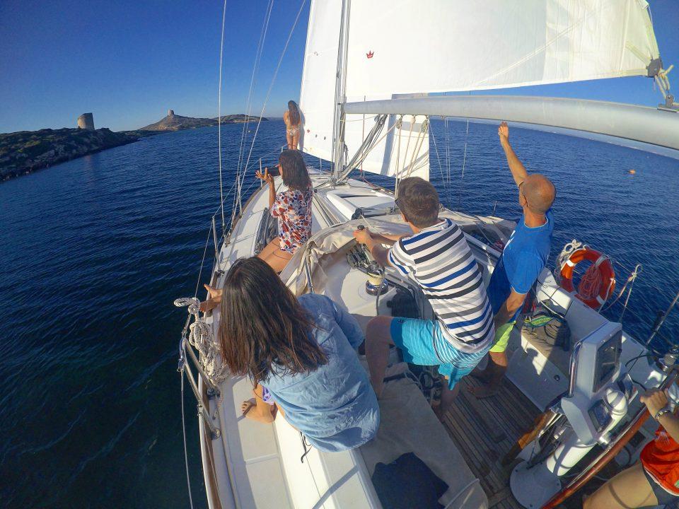 sinis yachting sardabike sardegna sailboat trip