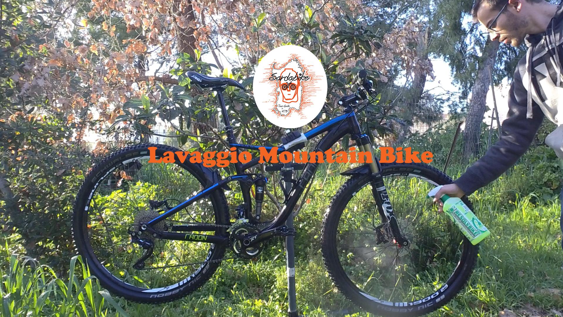 sardabike mtb tutorial lavaggio mountain bike resolvbike