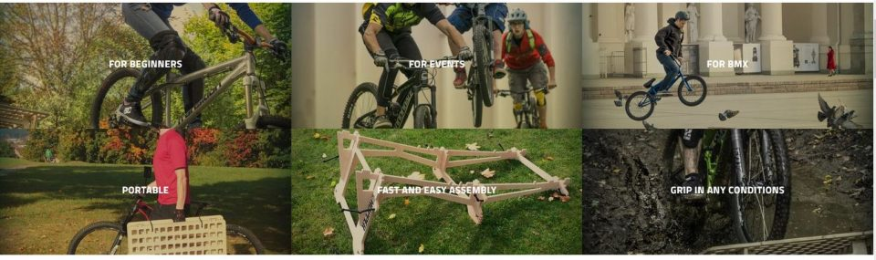 mtb hopper portable ramp jumps