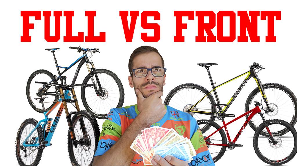 full vs front mtb