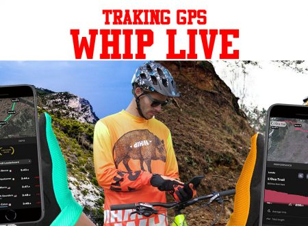 Whip live traking GPS MTB e moto, compatibile strava