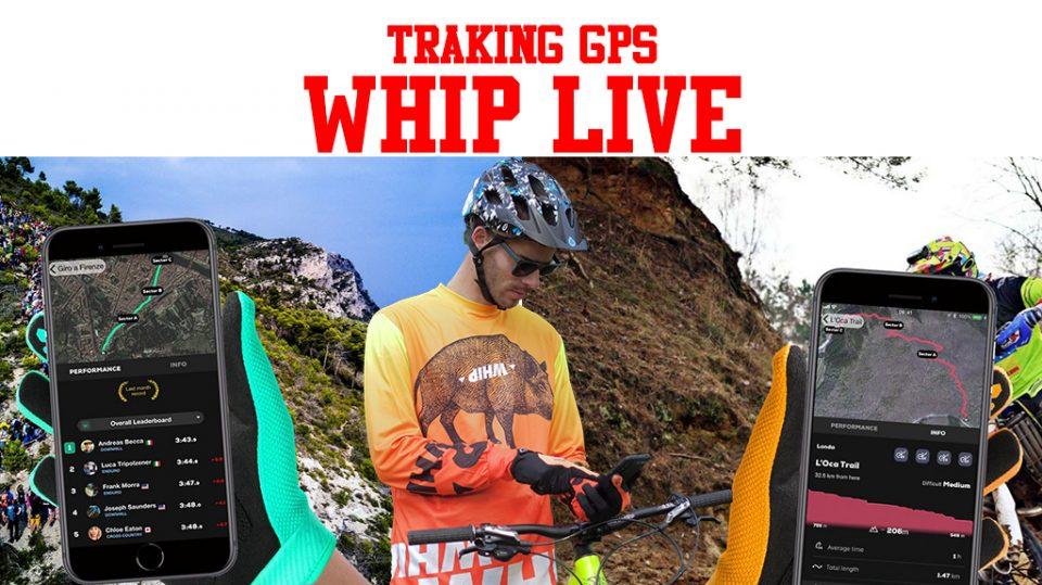 whip live app traking gps