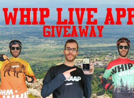 Whip live Giveaway Ambassador traking strava garmin gopro