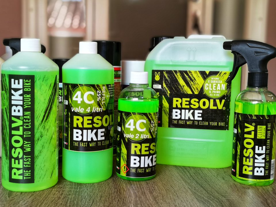 resolvbike all in one detergente