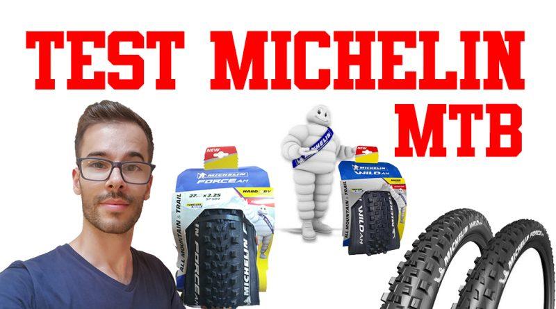 Test copertoni MTB Michelin