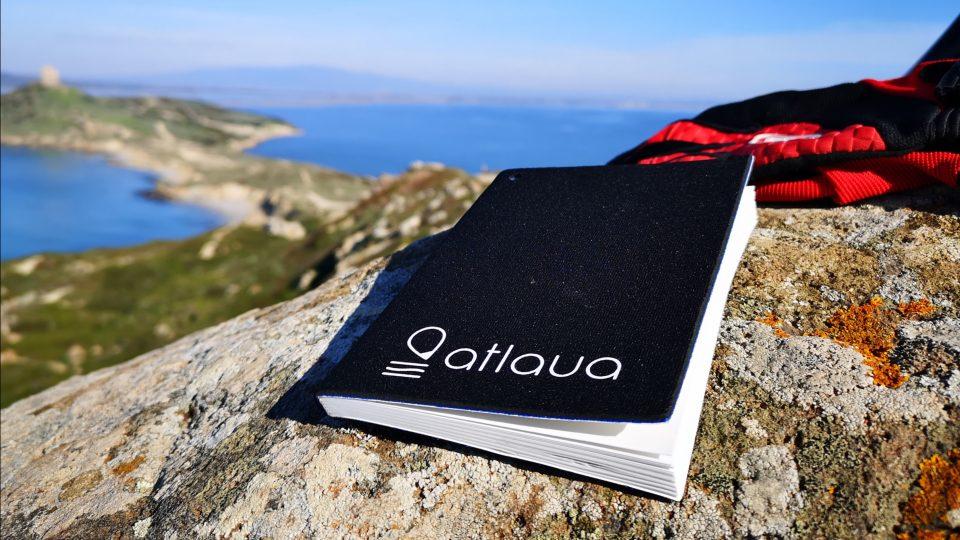 Atlaua taccuino impermeabile sardabike scrittura tecnologica in ambienti estremi
