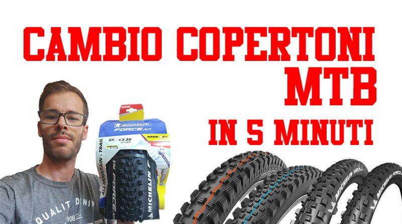 come cambiare il copertone mtb bici sardabike mountain bike