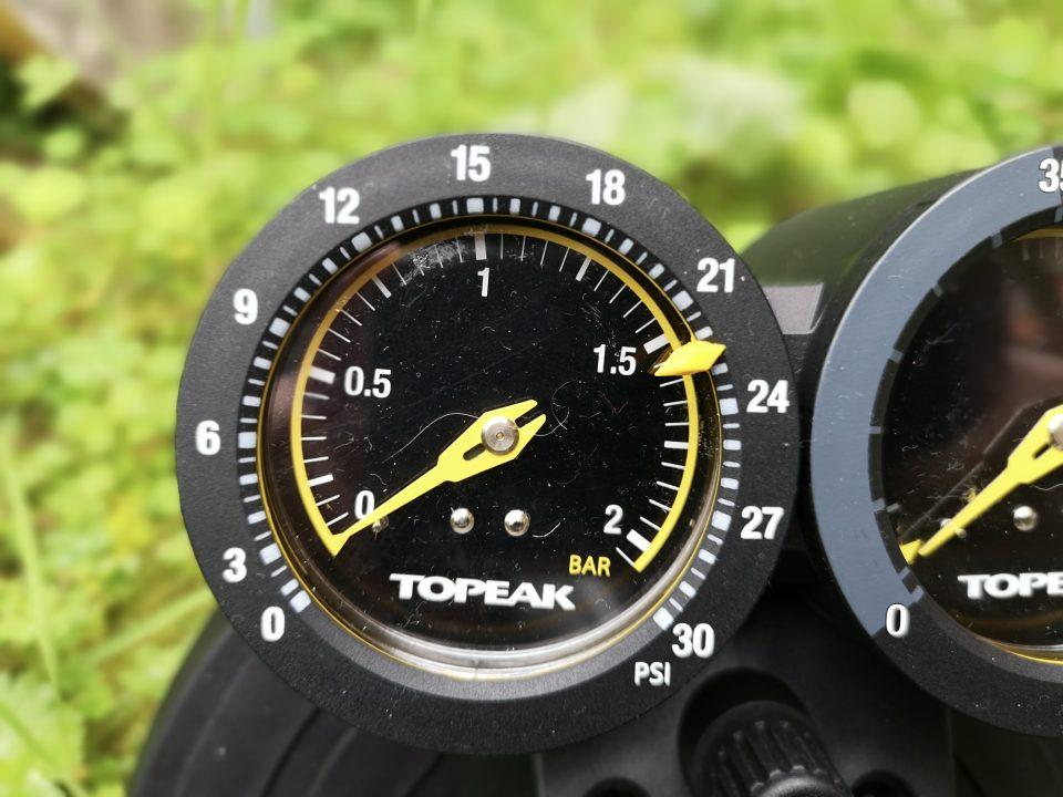 pompa Topeak Joe Blow Dualie basse pressioni