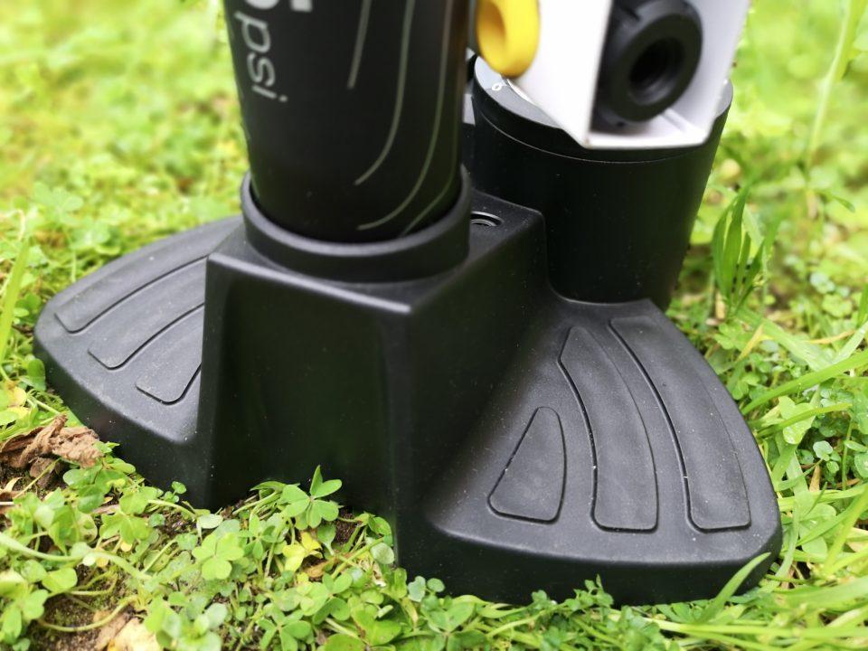 pompa Topeak Joe Blow Dualie base piedi