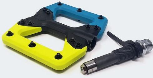 squidworx pedali flat mtb modulari