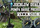 joeblow dualie pompa basse pressioni mtb tubeless fat plus