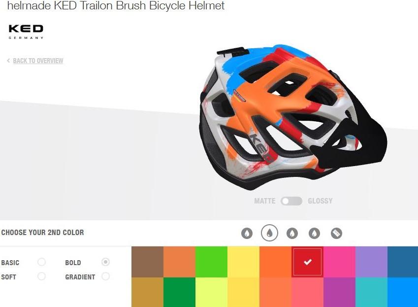 Casco MTB personalizzato helmade sardabike