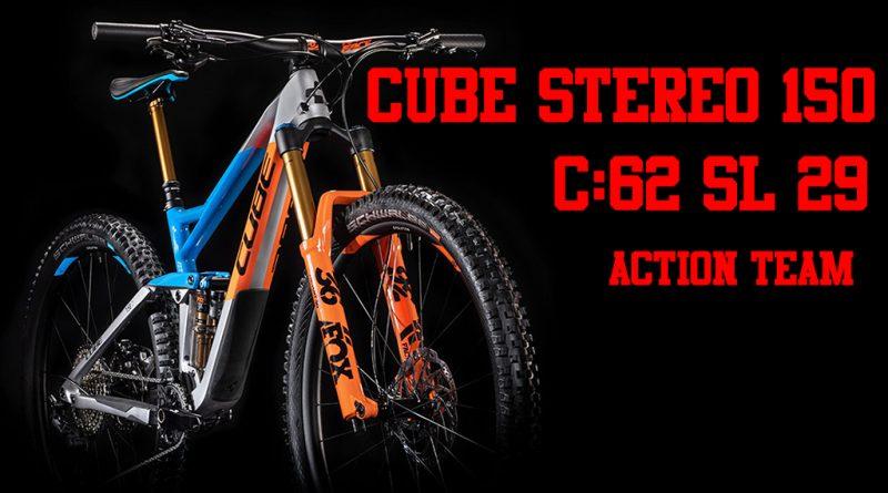 cube stereo 150 C:62 SL action team sardabike