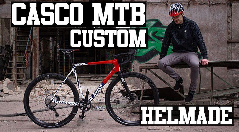 casco mtb custom helmade ked