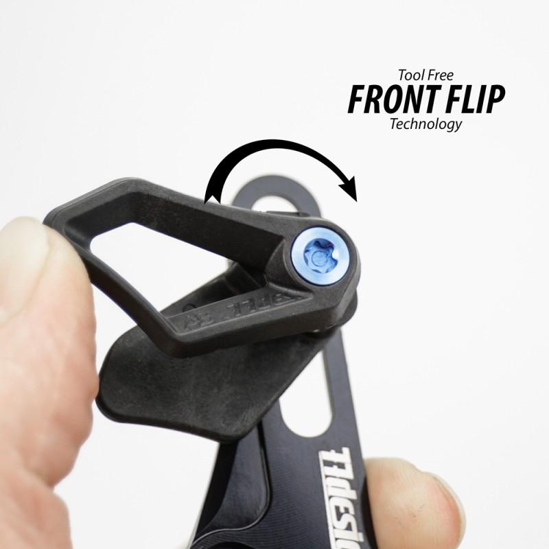 77Designz guidacatena leggero front flip senza attrezzi