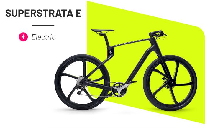 superstrata bike bici ultra leggera in carbonio muscolare e elettrica la migliore ebike 2021