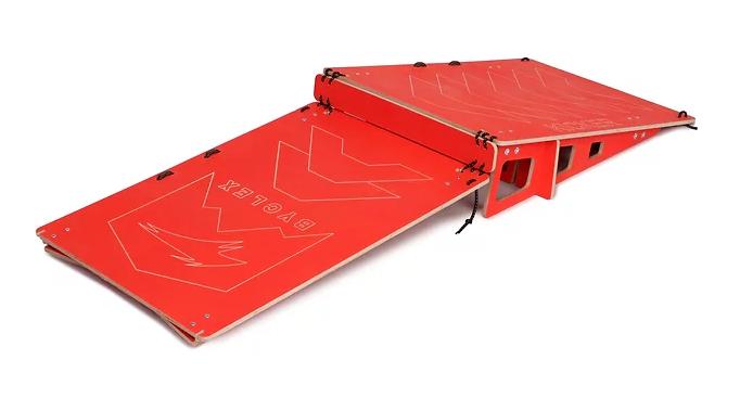 Rampa portatile mtb bmx economica byclex principianti come saltare