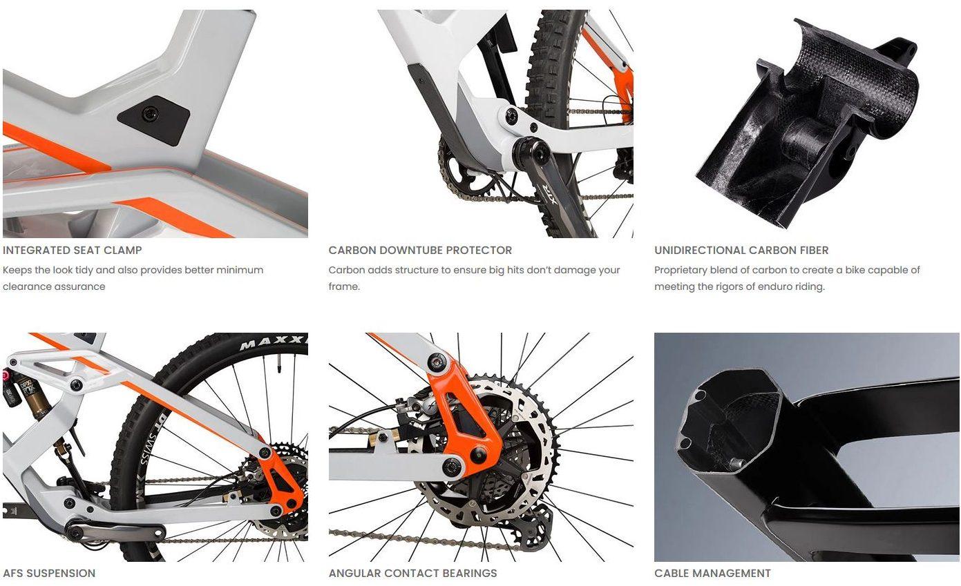 Eminent Cycles Onset Pro sardabike mtb