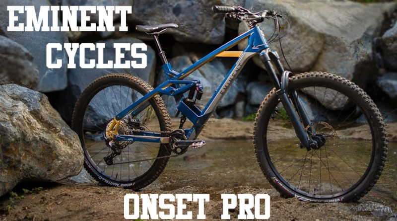 Eminent Cycles Onset Pro MTB sardabike