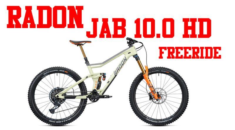 Radon Jab 10.0 HD freeride enduro sardabike mtb