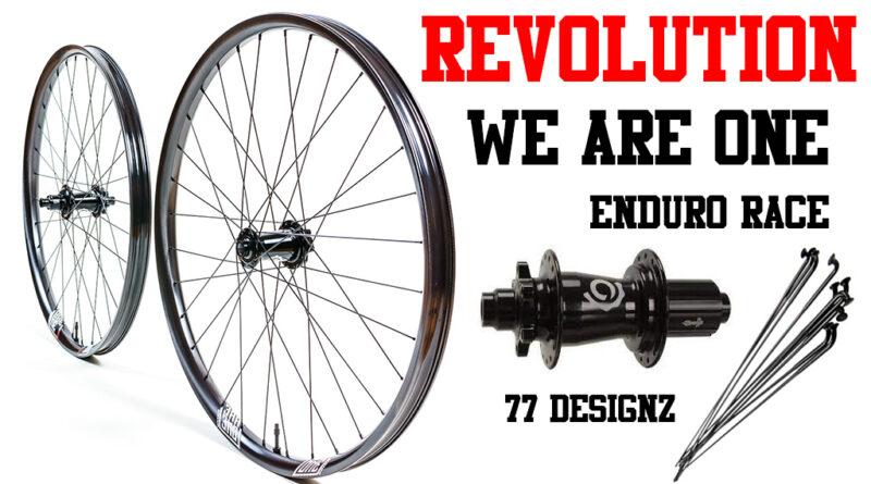we are one revolution cerchi MTB carbonio enduro race