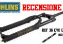 Ohlins RXF 36 coil recensione test