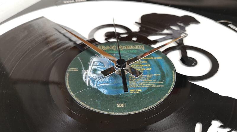 DISC'O'CLOCK orologio MTB vinile made in italy