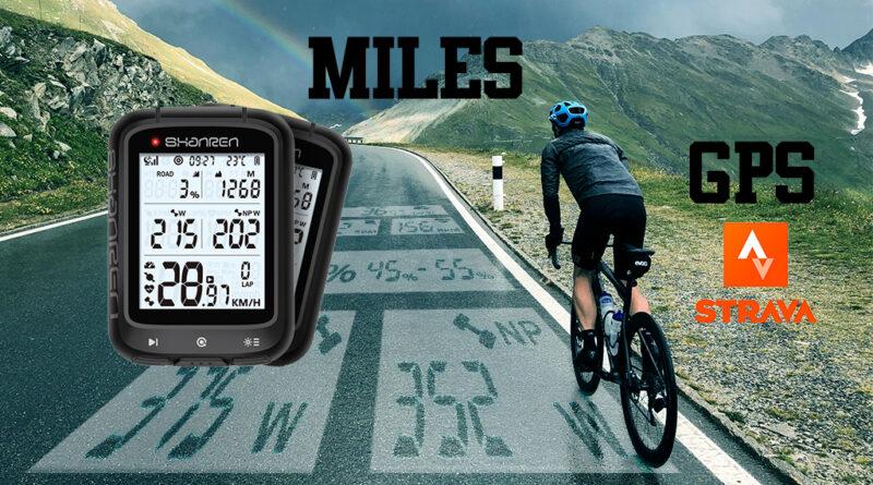 Miles Shanren GPS economico ciclo computer bici