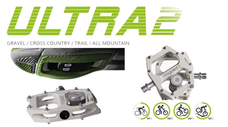 Magped ULTRA2 pedali magnetici nuovi