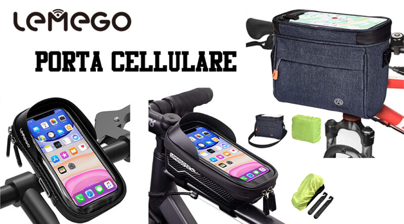 porta cellulare MTB Lemego borse da viaggio bici