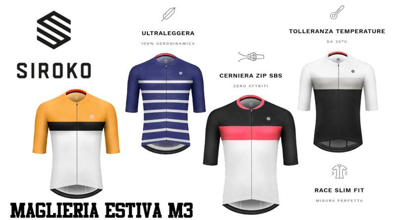 Siroko Tech M3 maglie estive ciclismo MTB