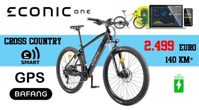 Econic One Cross Country Smart ebike